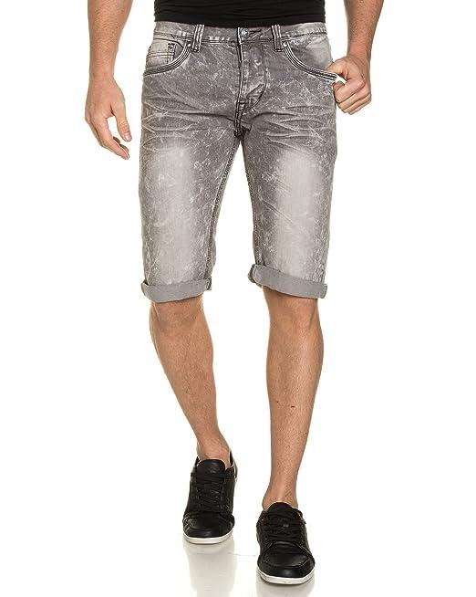 Lavada GrisAmazon esRopa Jeans De Gris Blz Bermuda QrhCxtdsB
