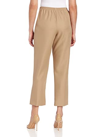 2184e6b1 Alfred Dunner Women's Cropped Pant