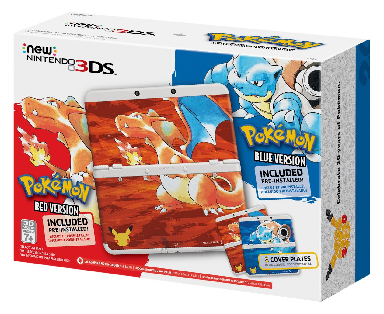 Nintendo New 3DS - Pokemon 20th Anniversary Edition [Discontinued] by Nintendo