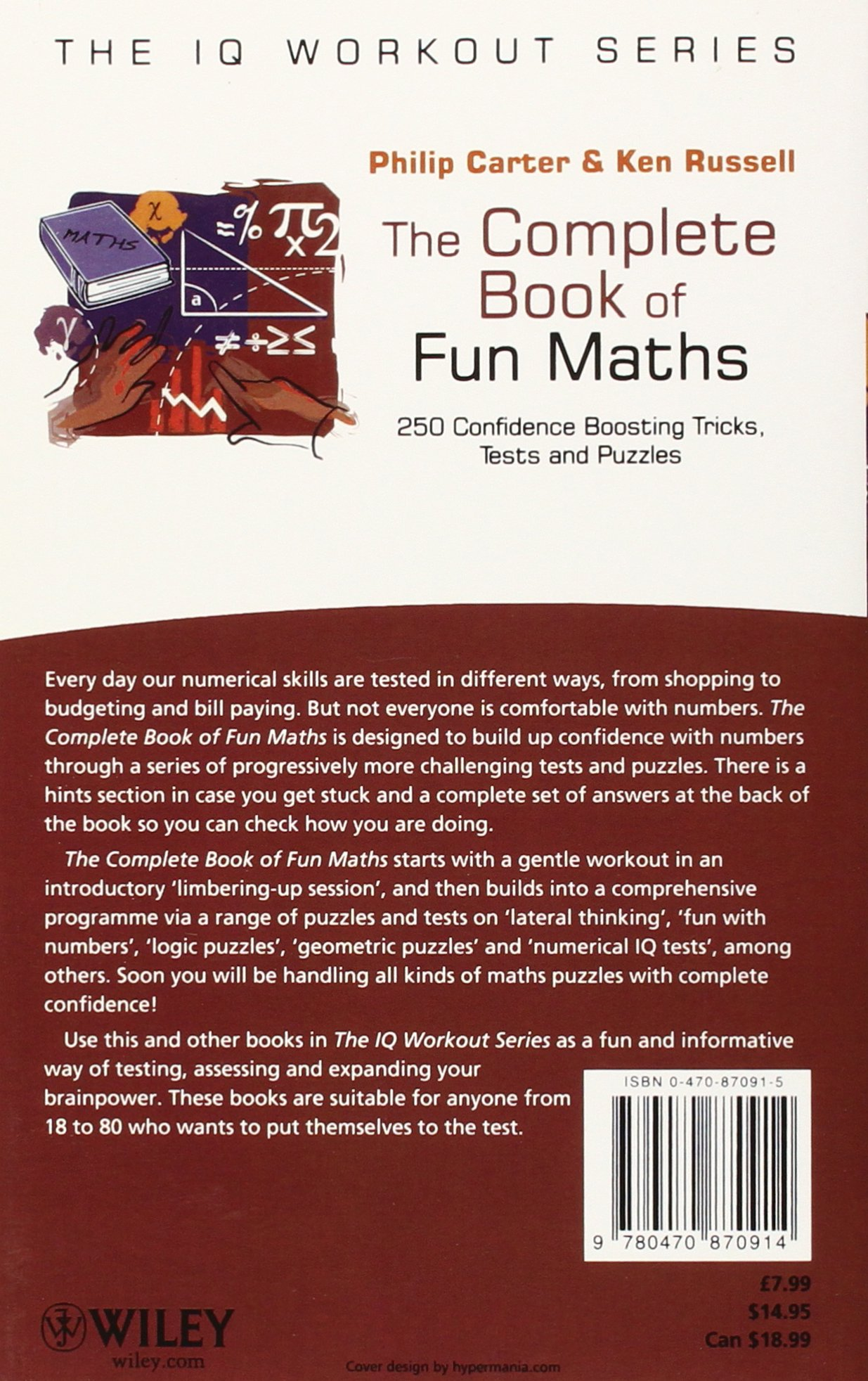The Complete Book of Fun Maths: 250 Confidence-boosting Tricks, Tests and Puzzles