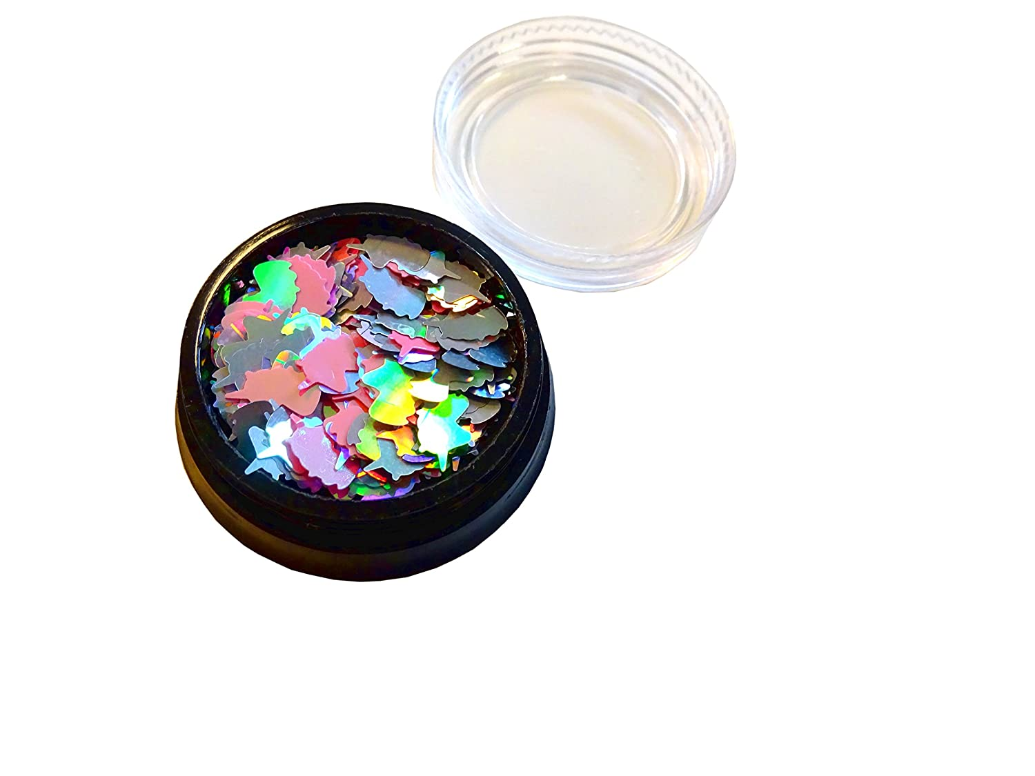 Unicorn Holographic Nail Decoration Confetti