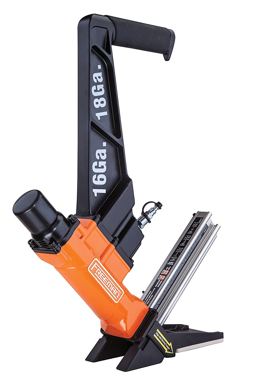 Freeman PF1618GLCN 3 in 1 16 & 18 Gauge Cleat Flooring Nailer for ...