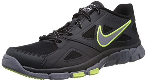 affd17d3497 Nike Men s Flex Supreme Tr 2 Anthracite Volt Black Drk Grey Training Shoe