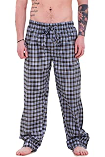 Bay eCom UK Mens Pyjama Bottoms Rich Cotton Woven Check Lounge Pant  Nightwear Big 3XL to 6bbbcfffb