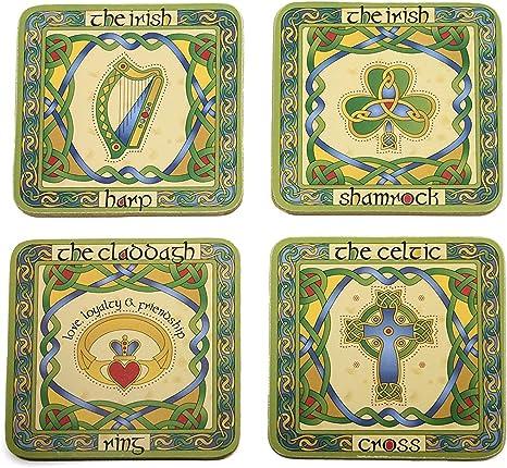Iconic Symbols coasters.