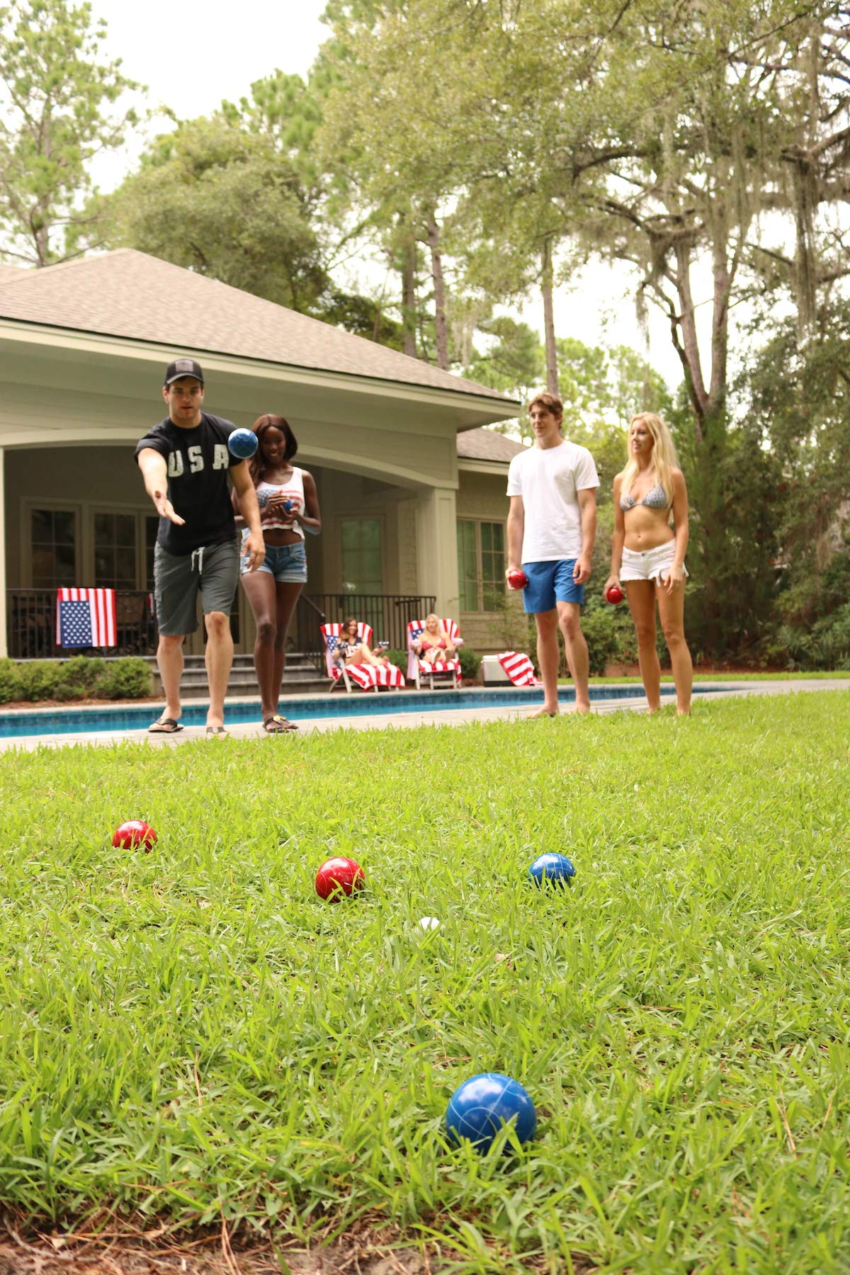 PROLINE NFL Houston Texans Bocce Ball Set by PROLINE (Image #2)