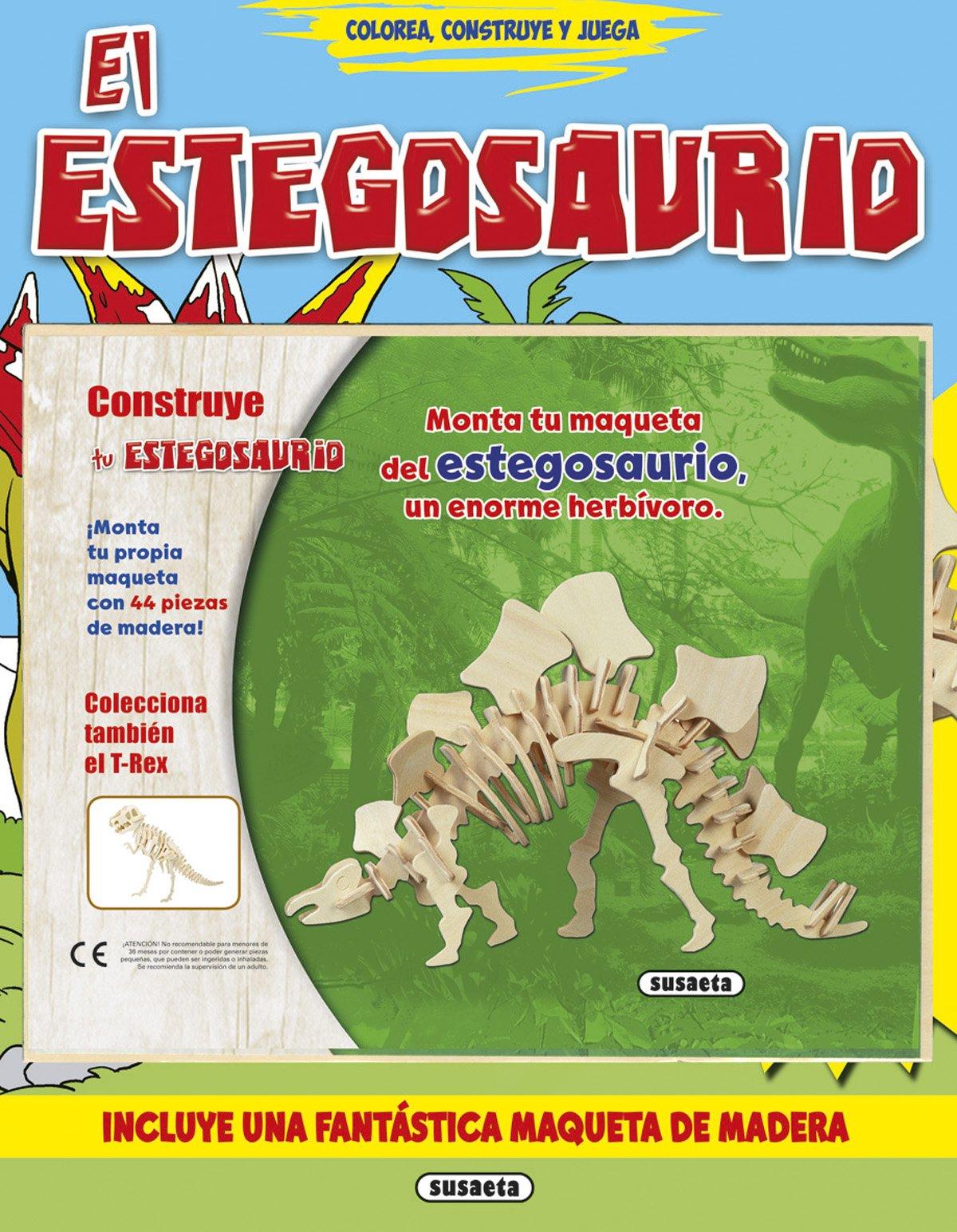 ESTEGOSAURIO, EL.(COLOREA, CONSTRUYE Y JUEGA).(REF:3264-01 ...