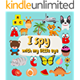 I spy with my little eye: guessing game from A to Z for children 2-5 years, funny activity for girls and boys…
