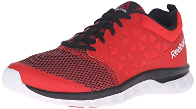 61911e9c3bf Reebok Men s Sublite XT Cushion 2.0 MT Riot Red Black White Athletic Shoe