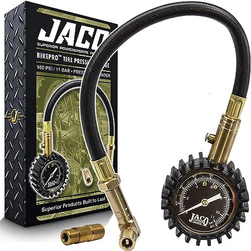 JACO BikePro Presta Tire Pressure Gauge 160 PSI