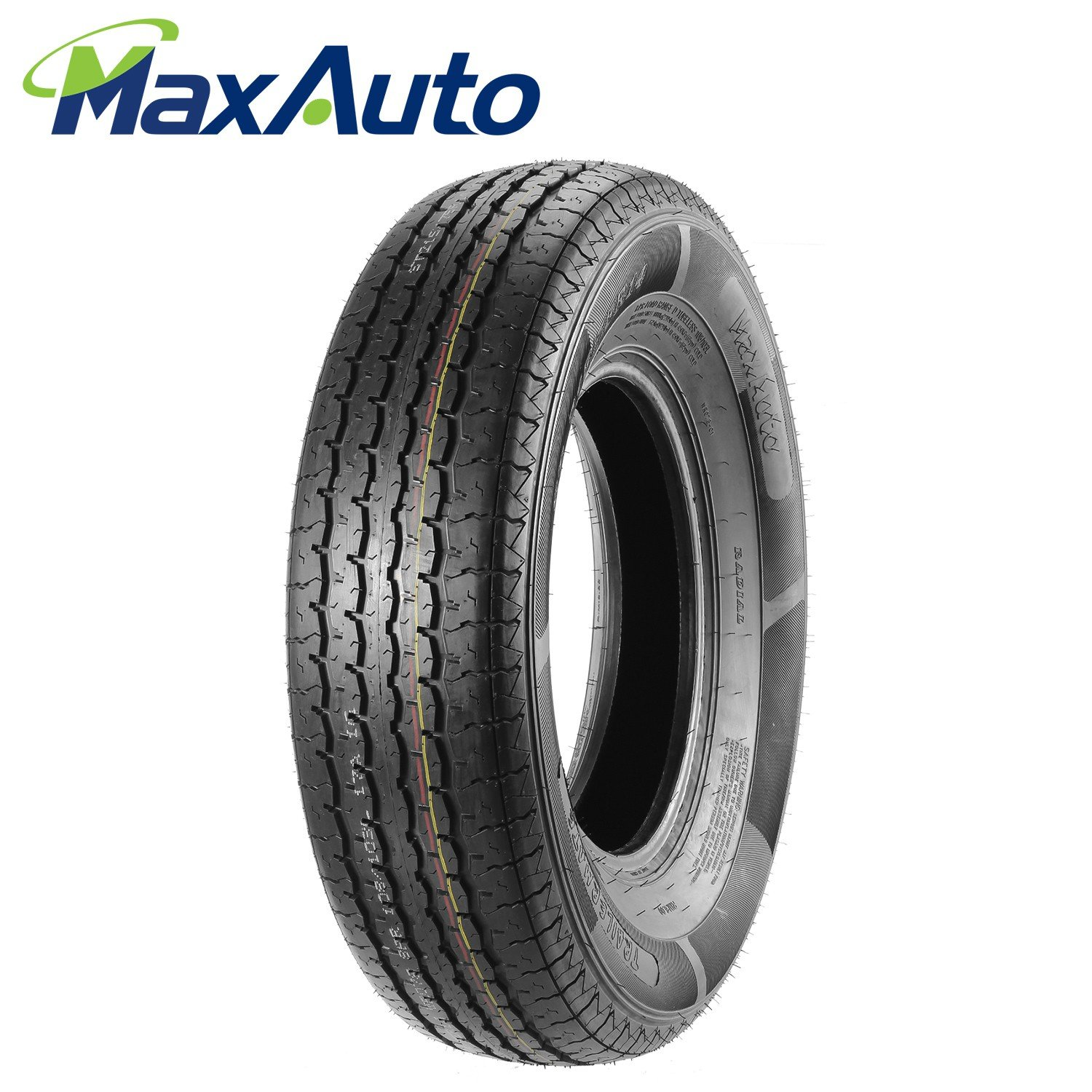 ST215/75R14 MaxAuto Radial Trailer Tires ST215/75R-14 8Ply