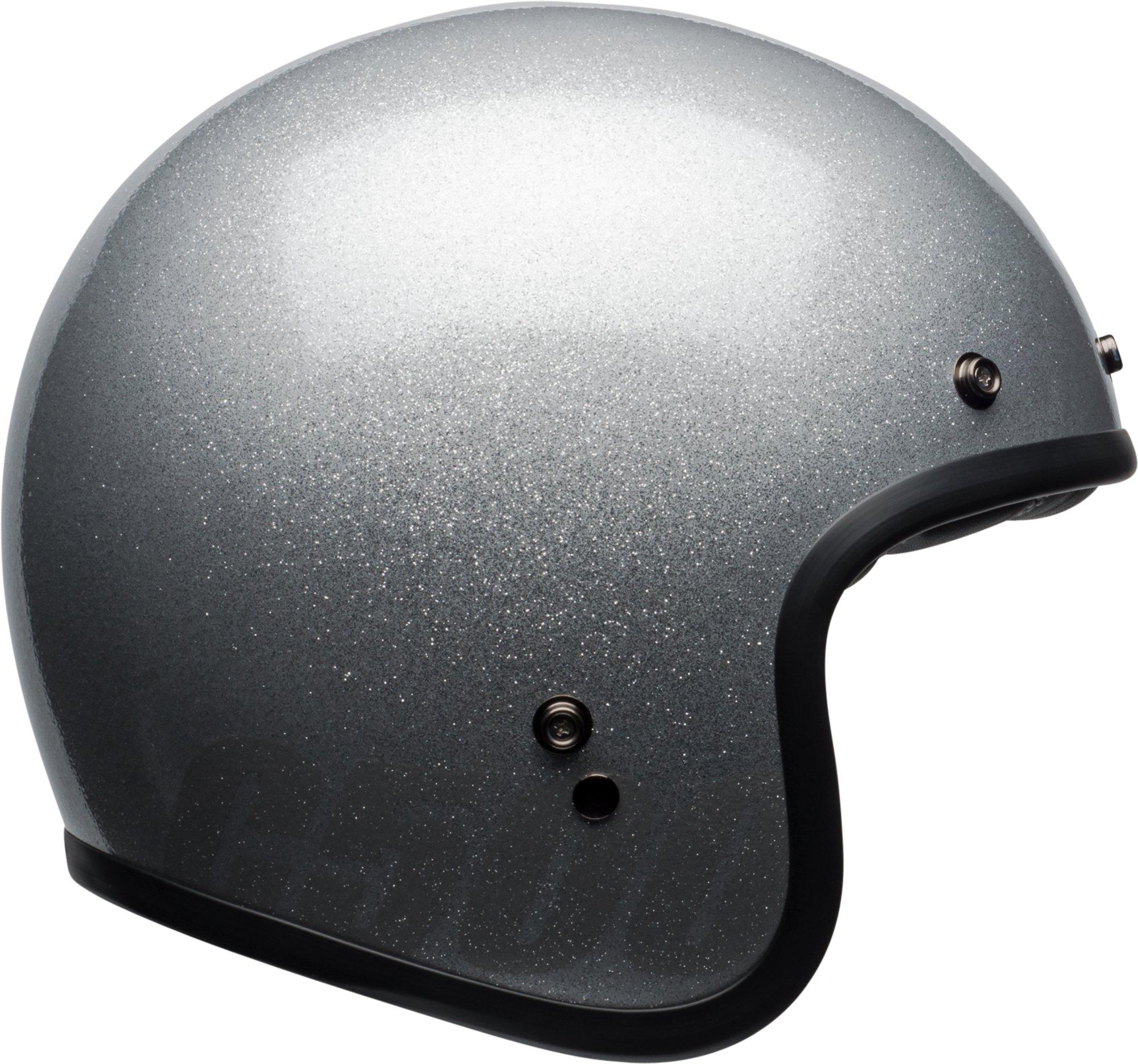 Bell Custom 500 Classic Helmet - Gloss Silver Flake - Medium