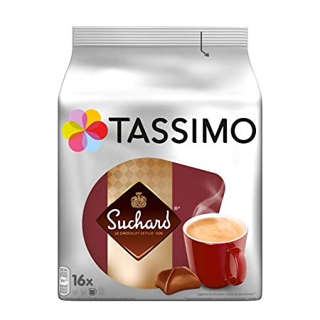 Amazon.com : TASSIMO Suchard Hot Chocolate 16 T DISCs (Pack of 5) : Grocery & Gourmet Food