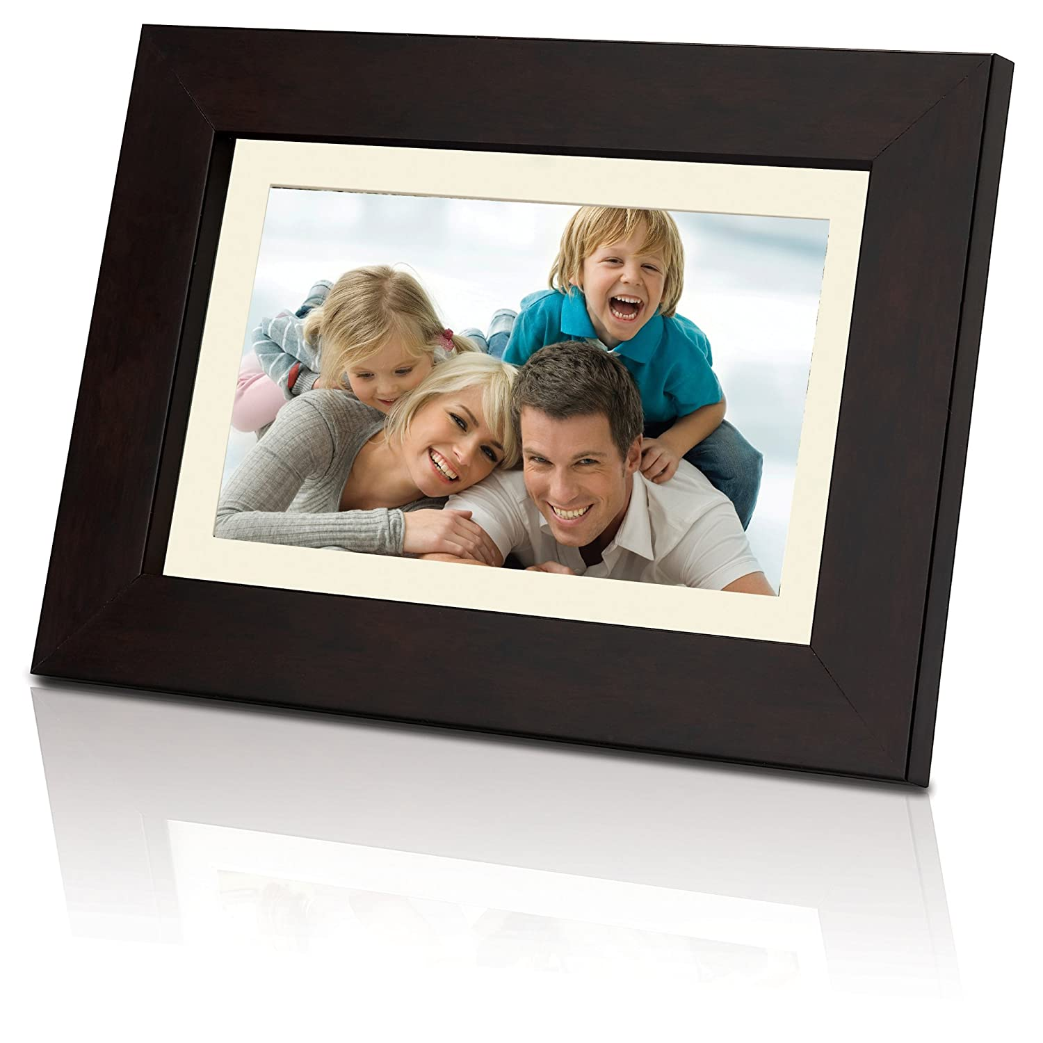Coby Widescreen Digital Photo Frame with Photo Slideshow Mode - DP730