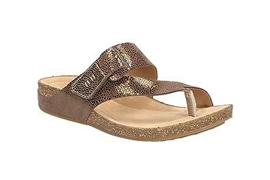 eecd17401368 Clarks Women s 261058915 04 Fashion Sandals Brown Braun (Bronze ...
