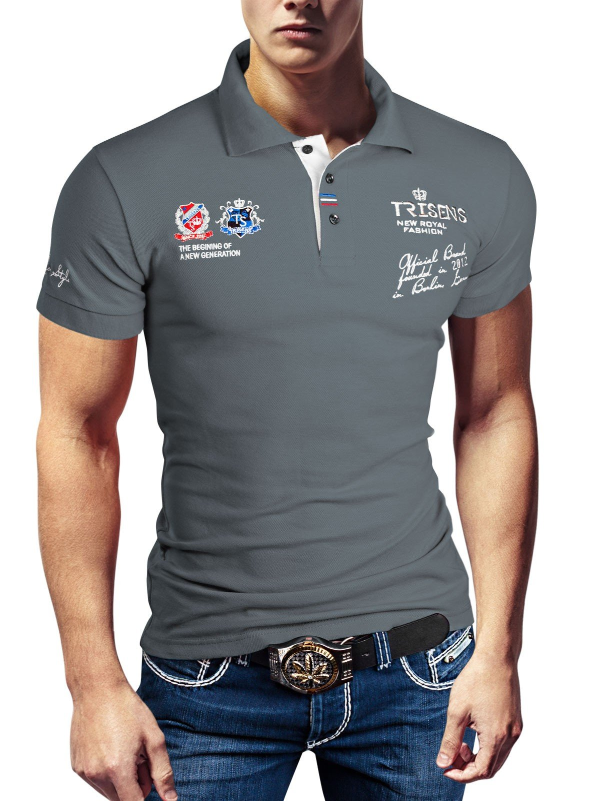 Mejor valorados en Camisetas y polos para hombre   Opiniones útiles ... e021052539ed0