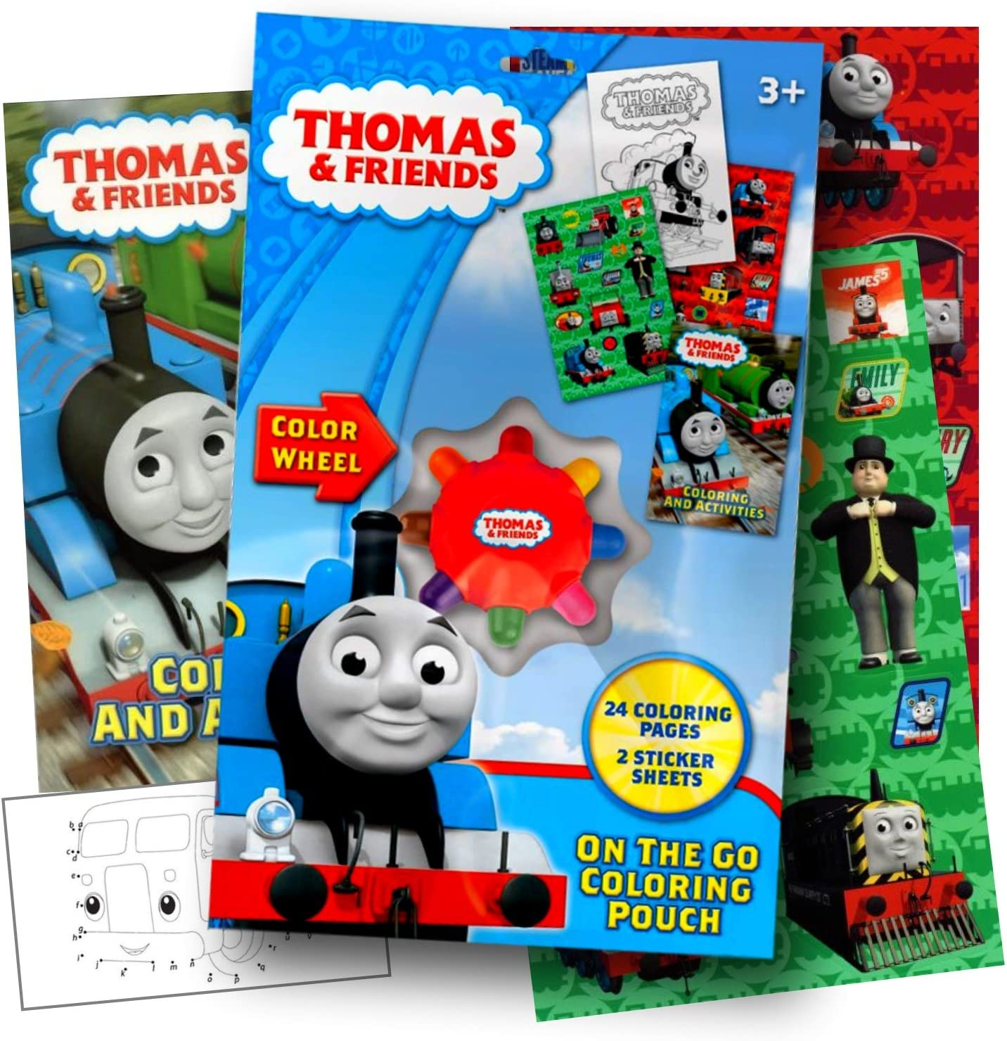 - Amazon.com: Thomas The Train On The Go Coloring Activity Set With
