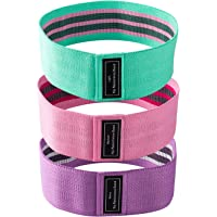 Oxford Street Resistance Bands Set,3 Levels Ideal for Resistance Loop Workout Bands for Legs and Butt,Fabric Sports…