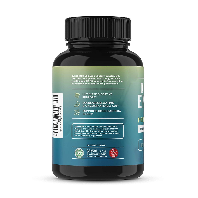 Amazon.com: Enzimas digestivas de calidad premium ...