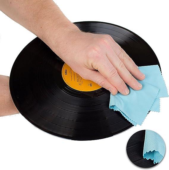 Biko Schallplatten Reinigungsset 3in1 Schonende Elektronik