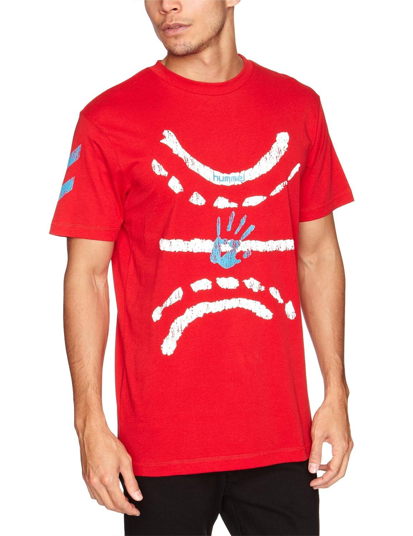 Hummel  - Camiseta, color rojo, talla M 090583062-00M