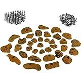 ALPIDEX 35 presas set de iniciación para niños - tornillos y 100 tuercas de inserción inclusive