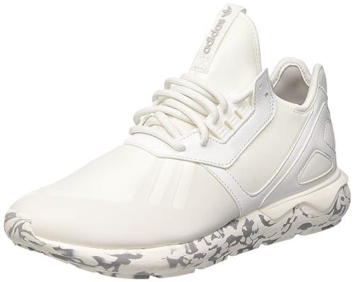 Adidas - Adidas Tubular Runner Scarpe Sportive Uomo Bianche F37531, Bianco ( Vintage White S15