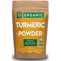 Organic Turmeric Root Powder w/ Curcumin | Lab Tested for Purity | 100% Raw from...