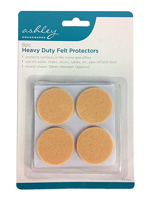 8 Pack Heavy Duty Felt Protectors For Use on Sofas, Chairs ...