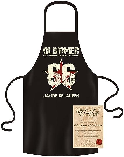 Grillschürze Oldtimer Baujahr 1953-1967 Küchenschürze Schürze zum Geburtstag