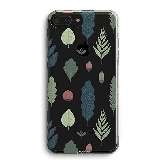 new arrival dbaf7 1e3da iPhone 6 /iPhone 6s Case,Girls Women Fall Feather Spring Nature Simple Chic  Cute Funny Autumn Green Leaves Plants Pine Nuts Colorful Floral Flowers ...