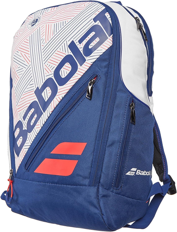 Babolat Team Expand – Mochila de tenis (Blanco/Azul): Amazon.es ...