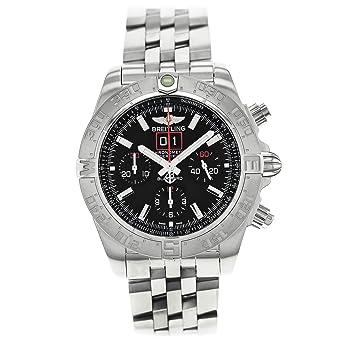 Breitling a4436010bb71371a - Reloj para hombres, correa de acero inoxidable color acero: Amazon.es: Relojes
