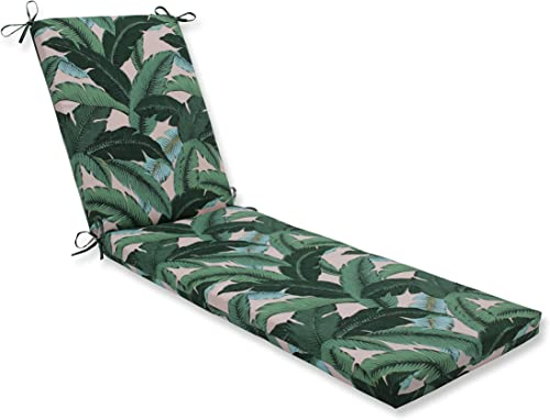 Pillow Perfect Outdoor/Indoor Swaying Palms Capri Chaise Lounge Cushion
