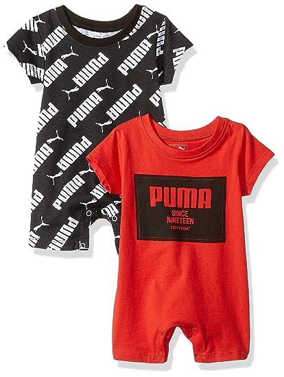 5b0e68b56db84 PUMA Baby Boys' 2 Pack Romper Set