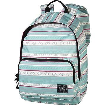 OŽNeill AC Coastline Backpack - Mochila, color verde con rayas blancas: Amazon.es: Deportes y aire libre
