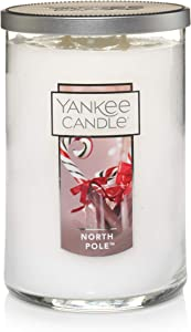 Yankee Candle Large Jar 2 Wick North Pole Scented Tumbler Premium Grade Candle Wax with up to 110 Hour Burn Time