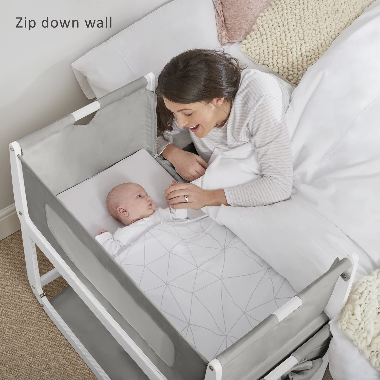 SnuzPod 3 Bedside Crib Dusk