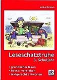 Leseschatztruhe für das 3. Schuljahr: Gründlicher lesen - besser verstehen - textgerecht antworten. Arbeitsblätter mit Lösungen