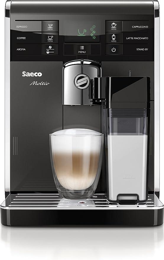 Saeco Moltio - Cafetera combinada espresso y goteo, molinillo ...