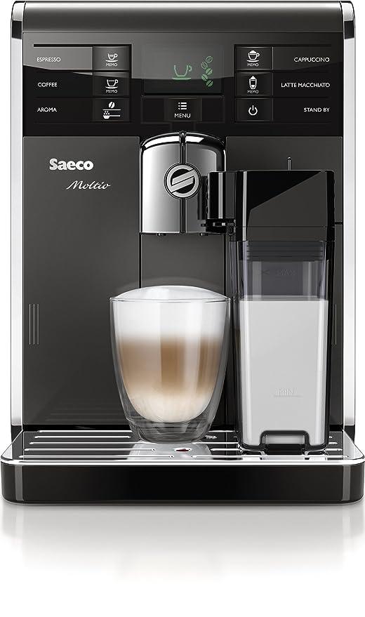 Saeco Moltio - Cafetera combinada espresso y goteo ...