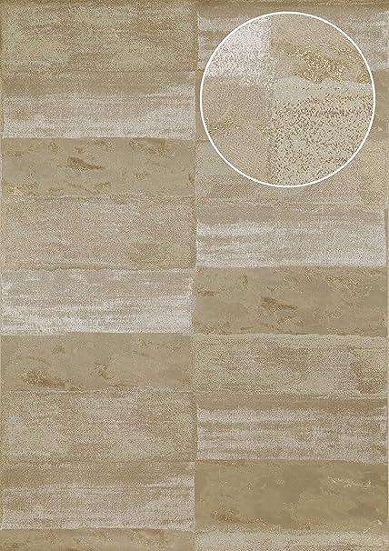 Papier Peint Aspect Pierre Carrelage Atlas Ico 5072 6 Papier