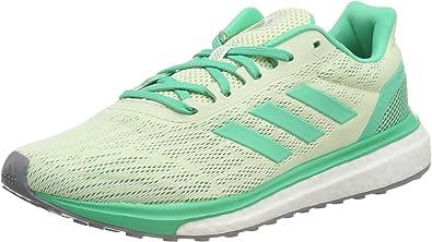adidas Response W, Zapatillas de Running para Mujer, Multicolor (Semi Frozen Yellow F15/hi-res Green S18/grey Three F17), 36 EU: Amazon.es: Zapatos y complementos