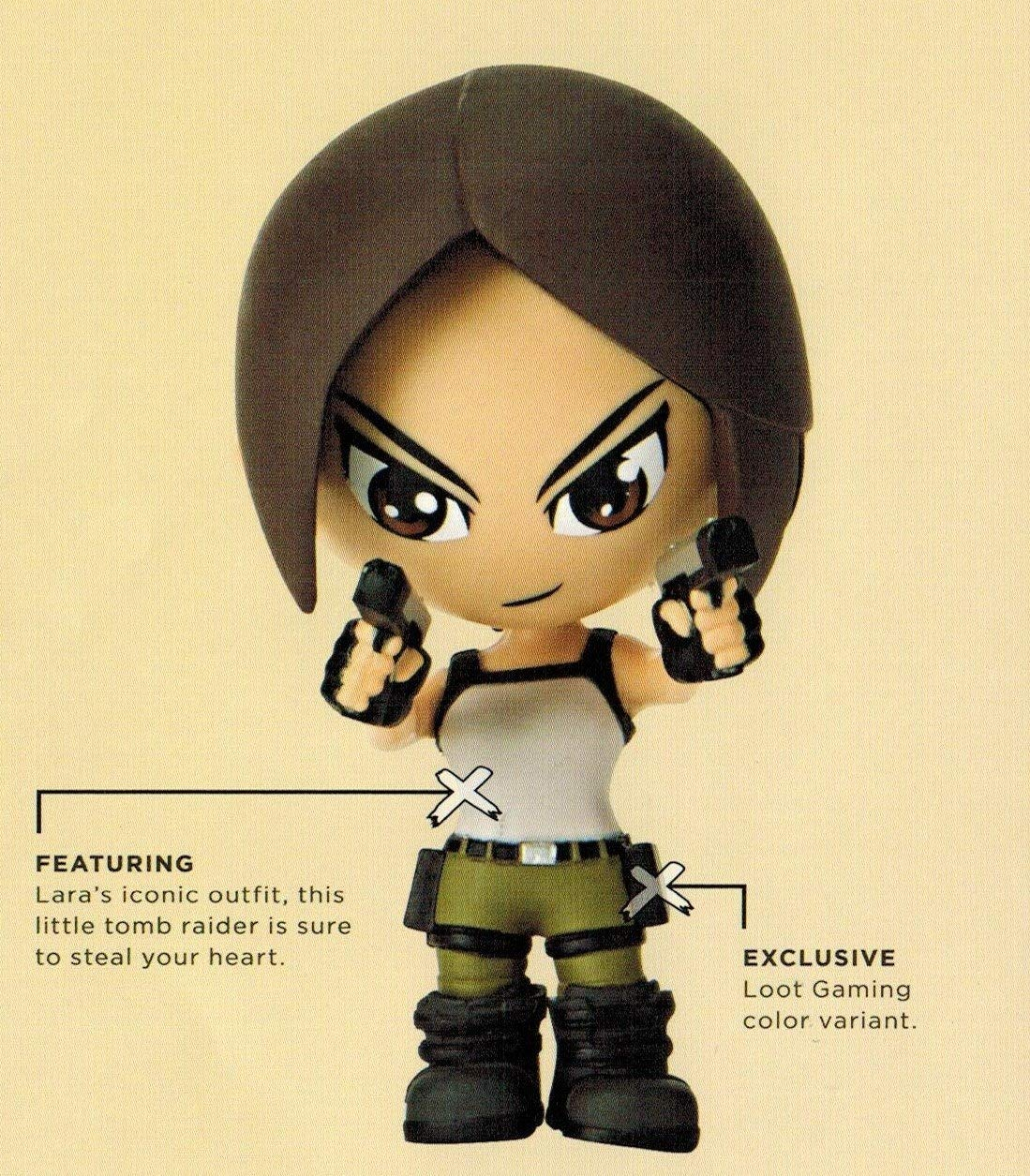Tomb Raider Lara Croft Figure Loot Crate Gaming July 2016 Exclusive
