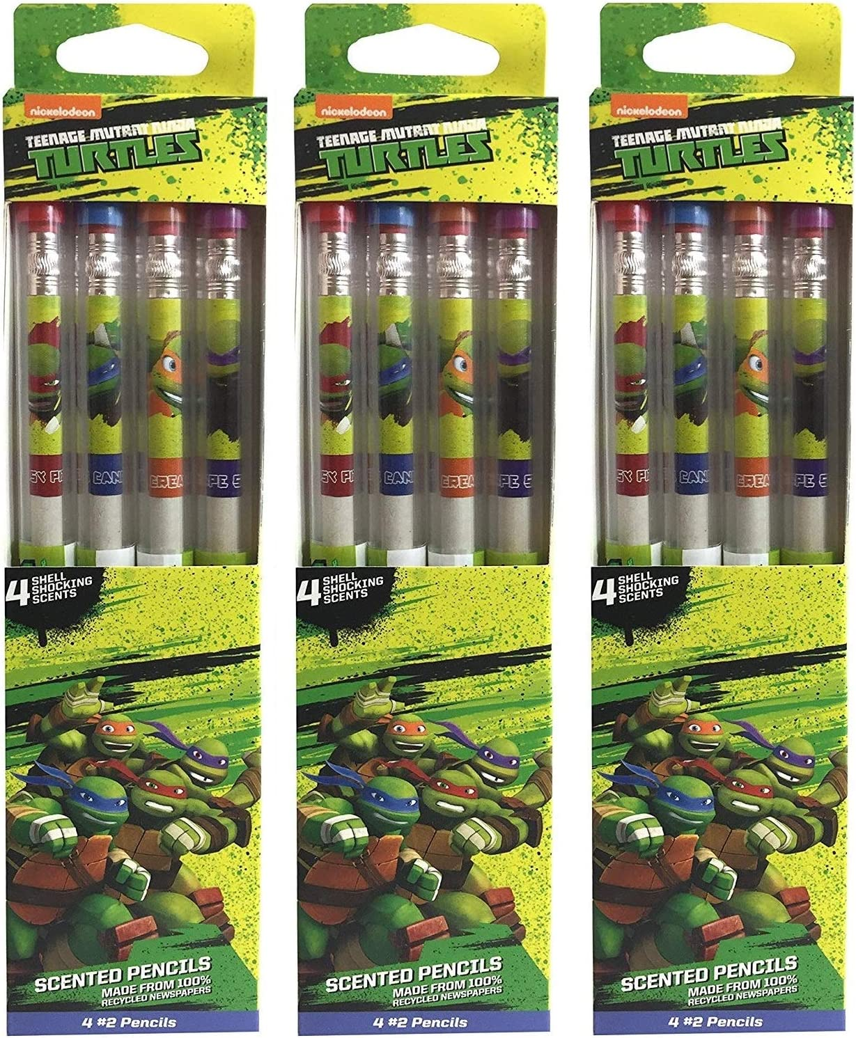 Teenage Mutant Ninja Turtles Smencils (12pk of #2 Scented Pencils)