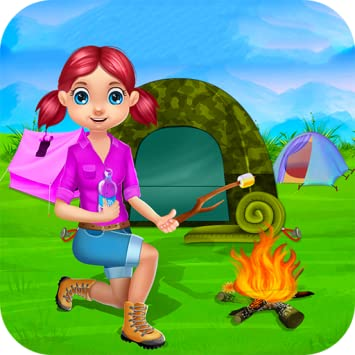 Amazon Com Camping Vacation Kids Summer Camp Games And Camp