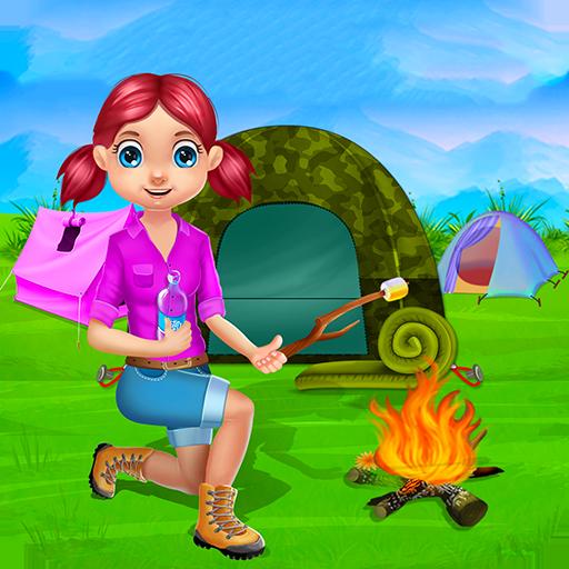 cmping vacaciones nios juegos de campamento de verano y actividades de acampar en este juego para nios y nias gratis amazones appstore para