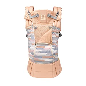 LÍLLÉbaby Complete All Seasons SIX-Position 360° Ergonomic Baby & Child Carrier, Canyon - Lumbar Support