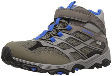 7612de7bcef0 Image Unavailable. Image not available for. Color  Merrell Kids  Moab FST  Mid a C Waterproof ...