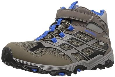 hot-selling cheap special discount choose original Merrell Boys Moab FST Low a/C Waterproof Sneaker: Amazon.ca ...